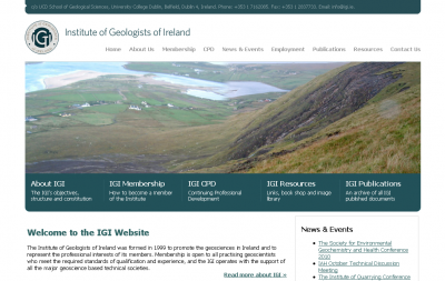The Institute of Geologists of Ireland