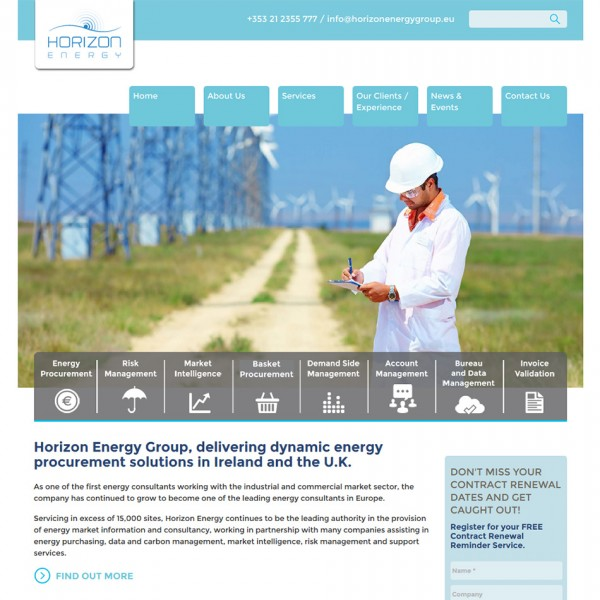 Horizon Energy Screenshot