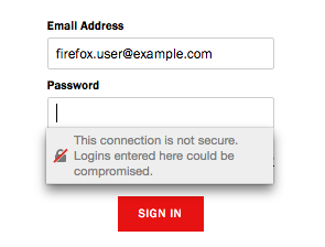 Firefox Insecure